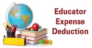 educator expense deductions
