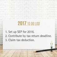 SEPs: A Powerful Retroactive Tax Planning Tool