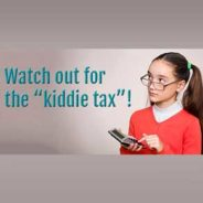 "The ""Kiddie Tax"": A Trap for the Unwary"