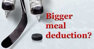 employee meal deductions