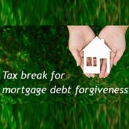 Time May Be Running Out (Again) For Tax-free Treatment Of Home Mortgage Debt Forgiveness
