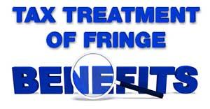 tax treatment of fringe benefits