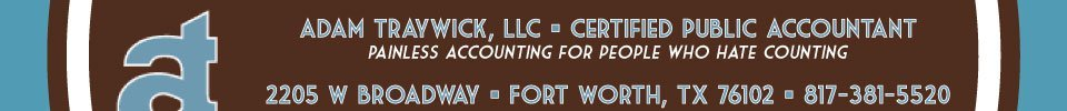 Fort Worth CPA Adam Traywick