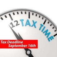 The next estimated tax deadline is Sept. 16: Do you have to make a payment?